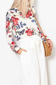 OVI Floral Button Down Top - Product Mini Image