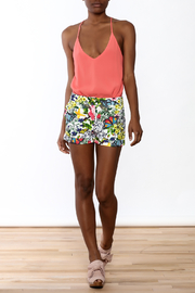 OVI Modern Floral Shorts - Front full body