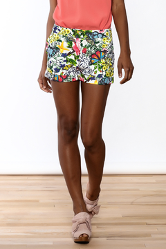 OVI Modern Floral Shorts - Product List Image
