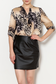 OVI Leapord Blouse - Product Mini Image