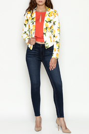 OVI Lemon Print Blazer - Side cropped