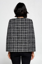 OVI Plaid Cape Blazer - Other