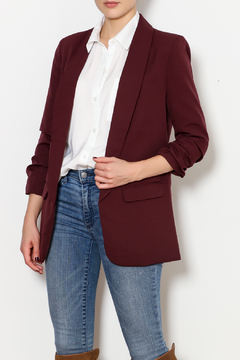 Shoptiques Product: Shirred Sleeve Jacket