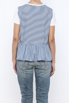 Shoptiques Product: Striped Back Tee