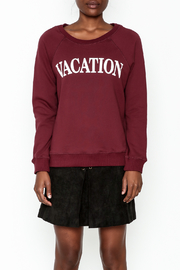 OVI Vacation Sweatshirt - Front full body