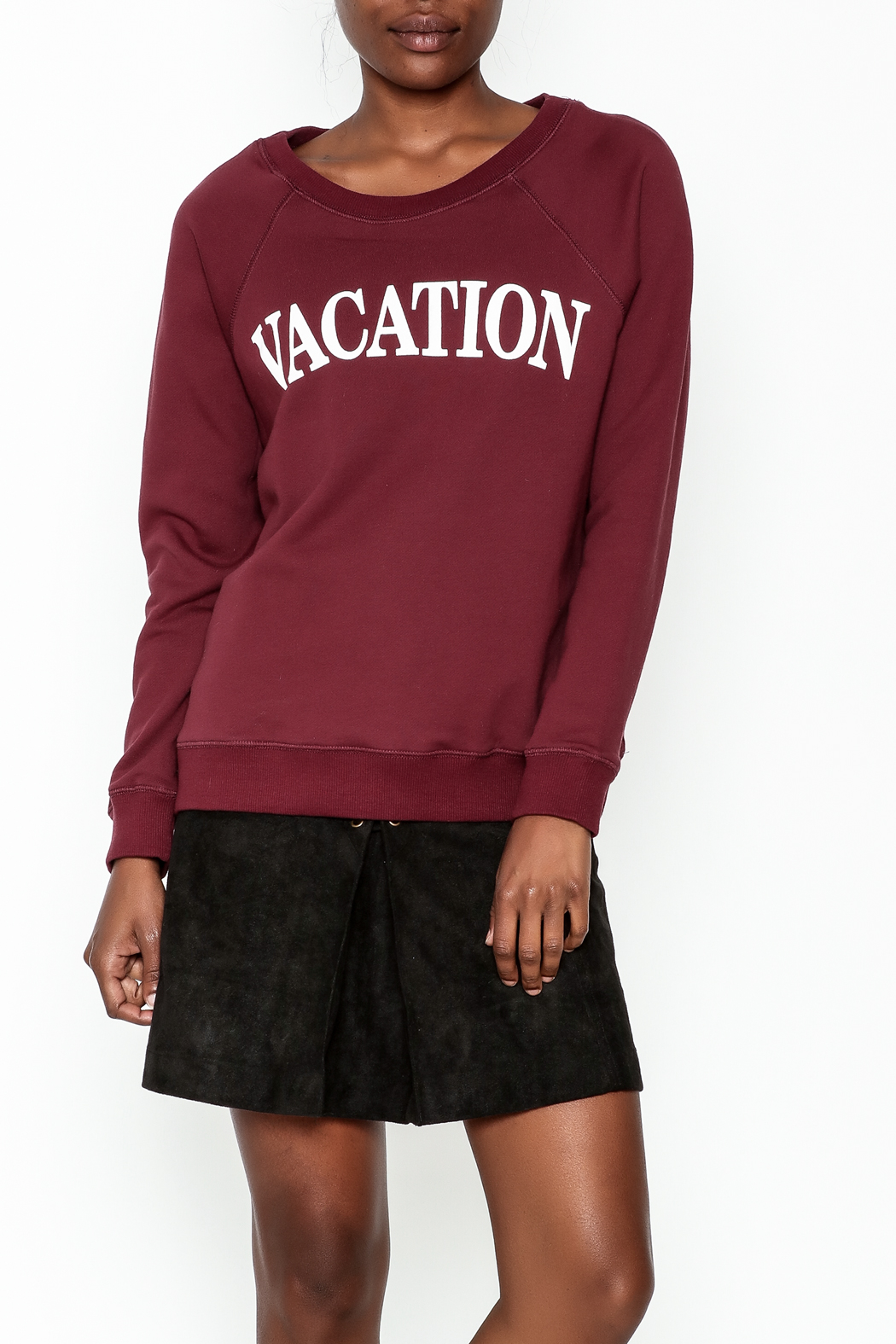OVI Vacation Sweatshirt - Front Cropped Image
