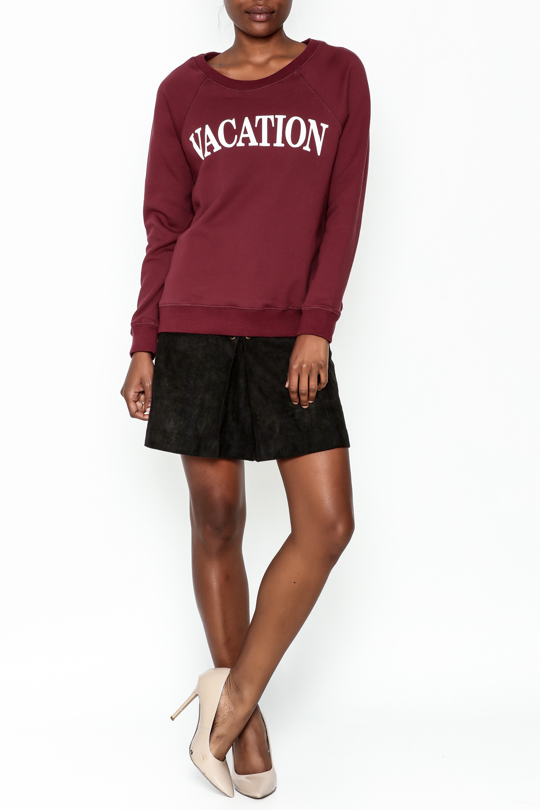 OVI Vacation Sweatshirt - Side Cropped Image