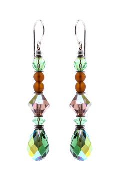 Shoptiques Product: Iridescent Green Earrings