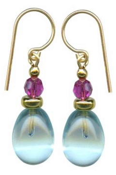 Owen Glass Banners Earrings - Alternate List Image