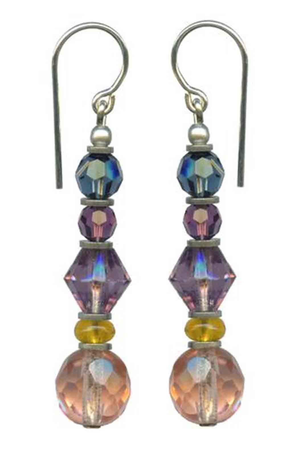Owen Glass Fauna Earrings - Front Cropped Image