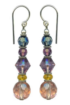 Owen Glass Fauna Earrings - Alternate List Image