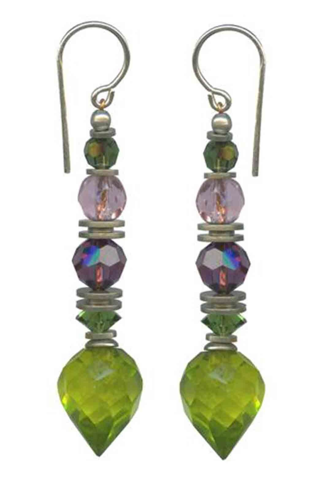 Owen Glass Flora Earrings - Main Image