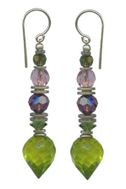Owen Glass Flora Earrings - Front cropped