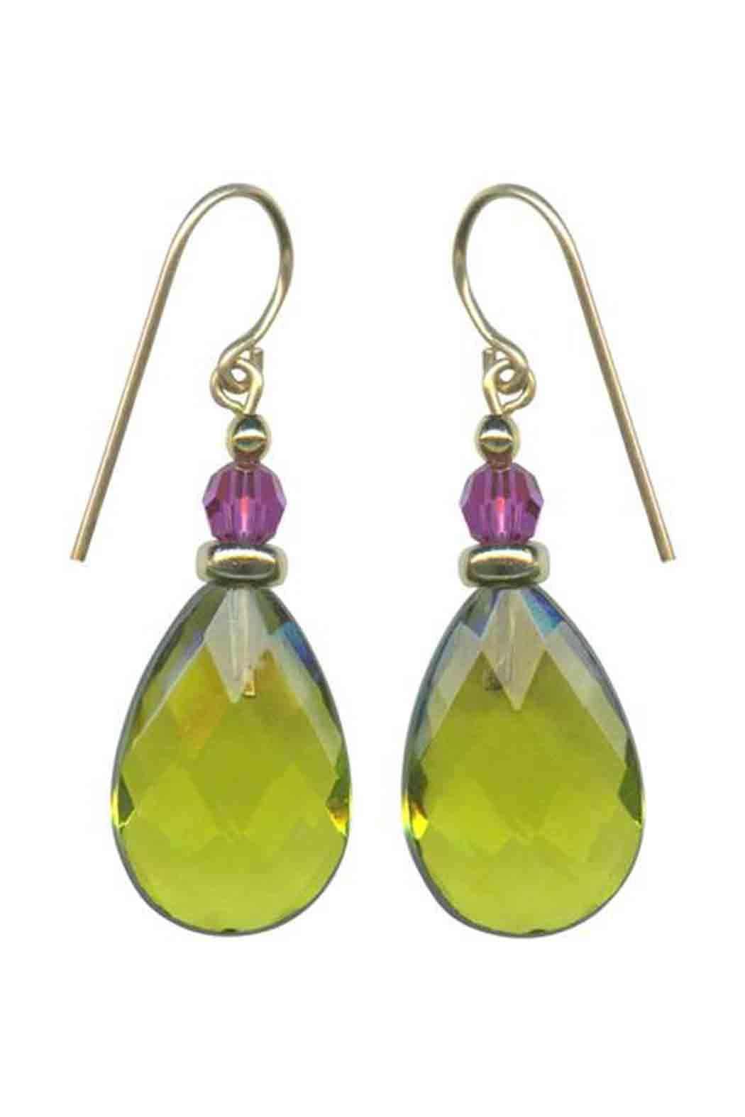 Owen Glass High Street Earrings - Front Cropped Image
