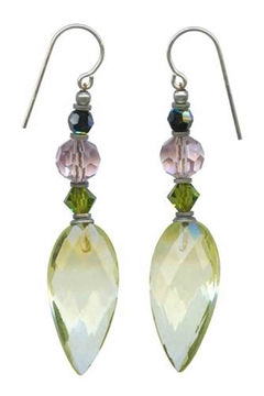 Owen Glass Jonquil Drop Earrings - Alternate List Image