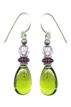 Owen Glass Raindrops Earrings - Alternate List Image
