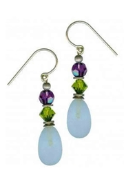 Owen Glass Raindrops Earrings - Product Mini Image