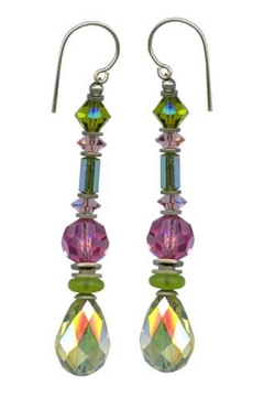Owen Glass Splash Earrings - Alternate List Image