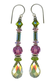 Owen Glass Splash Earrings - Front cropped