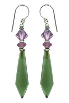 Owen Glass Tourmaline Glass Earrings - Alternate List Image