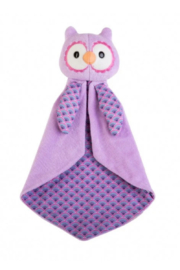Apple Park Owl Blankie - Front cropped