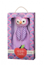 Apple Park Owl Blankie - Front full body