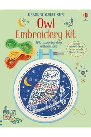Usborne Owl Embroidery Kit - Front cropped