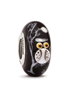 Fenton Owl Glass Bead - Alternate List Image