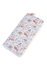 Riah Fashion Owl Print Wallet - Product Mini Image