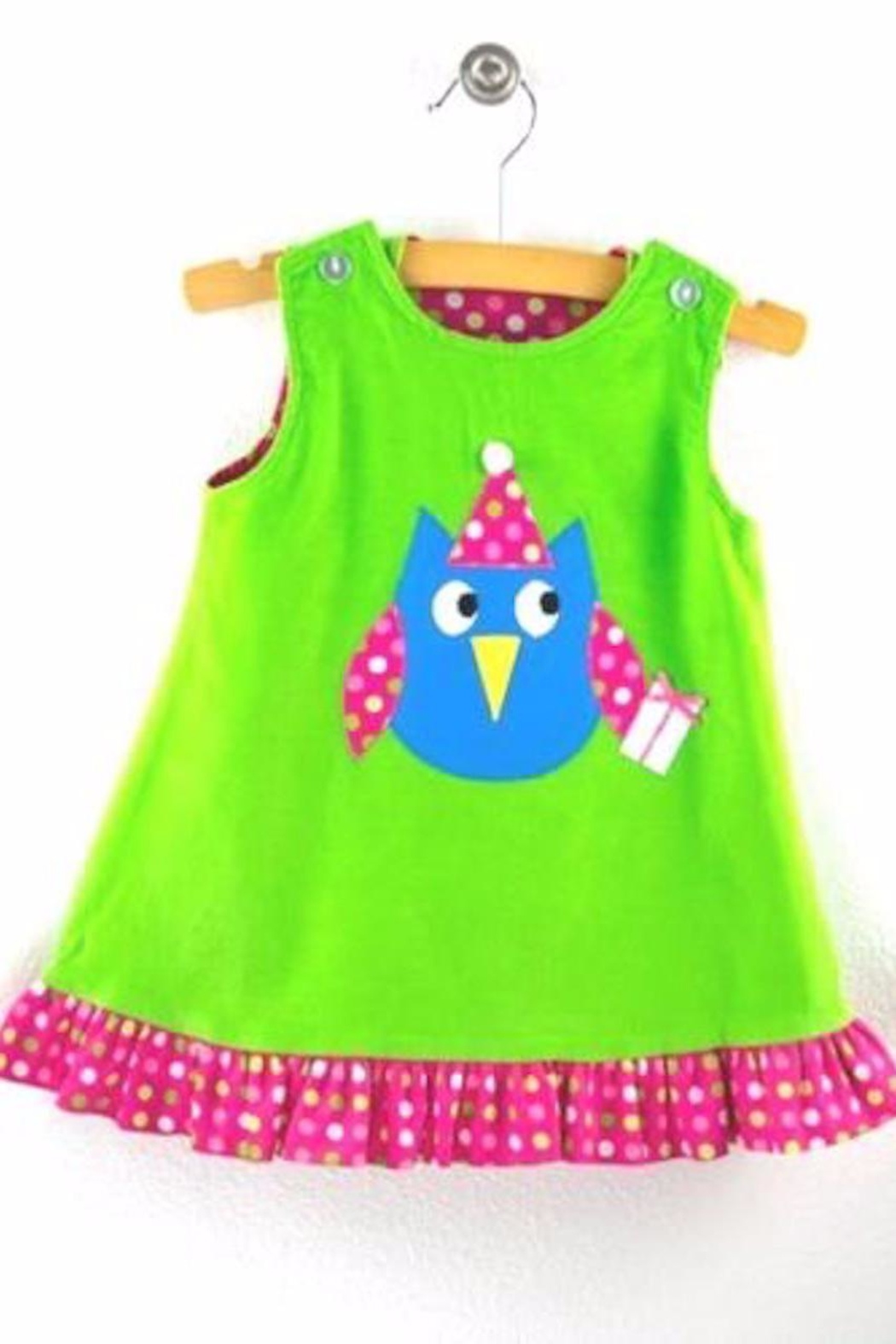 funtasia too Owl Reversible Jumper - Front Cropped Image