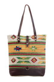 Myra bag  Bohemian Owners Tote Bag - Front cropped