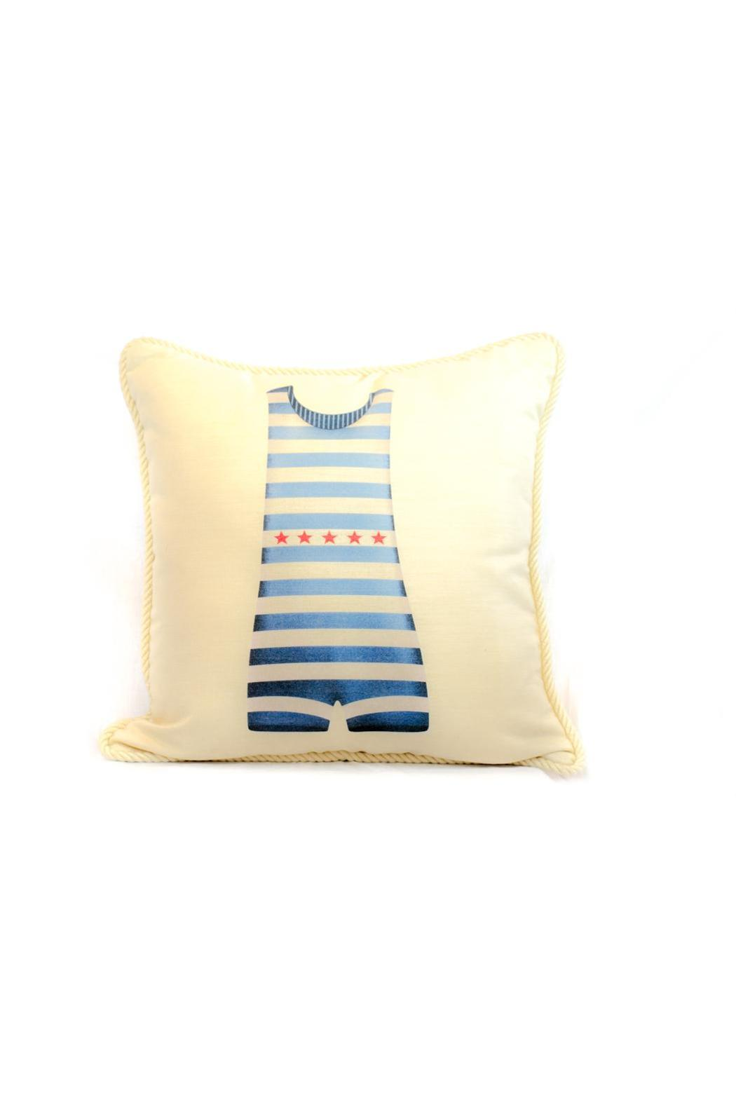 Ox Bow Bathing Suit Pillow - Main Image