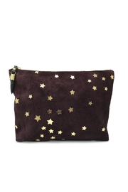 Kempton & Co. Oxblood Suede-Star Clutch - Product Mini Image