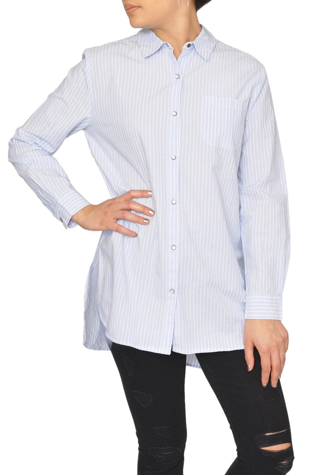 Designers Society Oxford Stripe Shirt - Main Image
