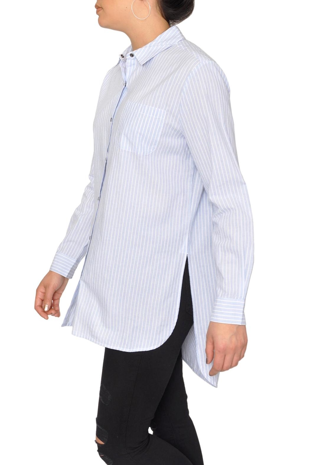 Designers Society Oxford Stripe Shirt - Front Full Image