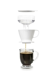 OXO Pour Over Coffee Tank - Front full body