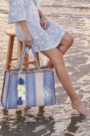 Spartina 449 Oyster Alley Seacoast Tote - Back cropped