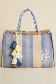 Spartina 449 Oyster Alley Seacoast Tote - Front cropped