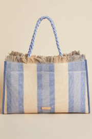 Spartina 449 Oyster Alley Seacoast Tote - Front full body