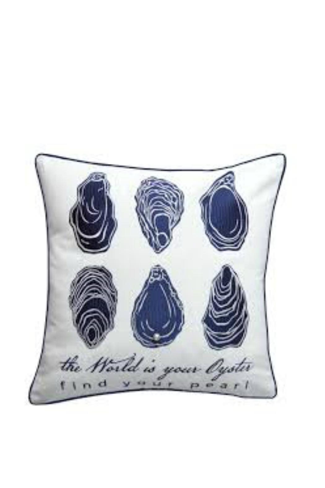 Rightside Design Oyster Outdoor Pillow - Main Image