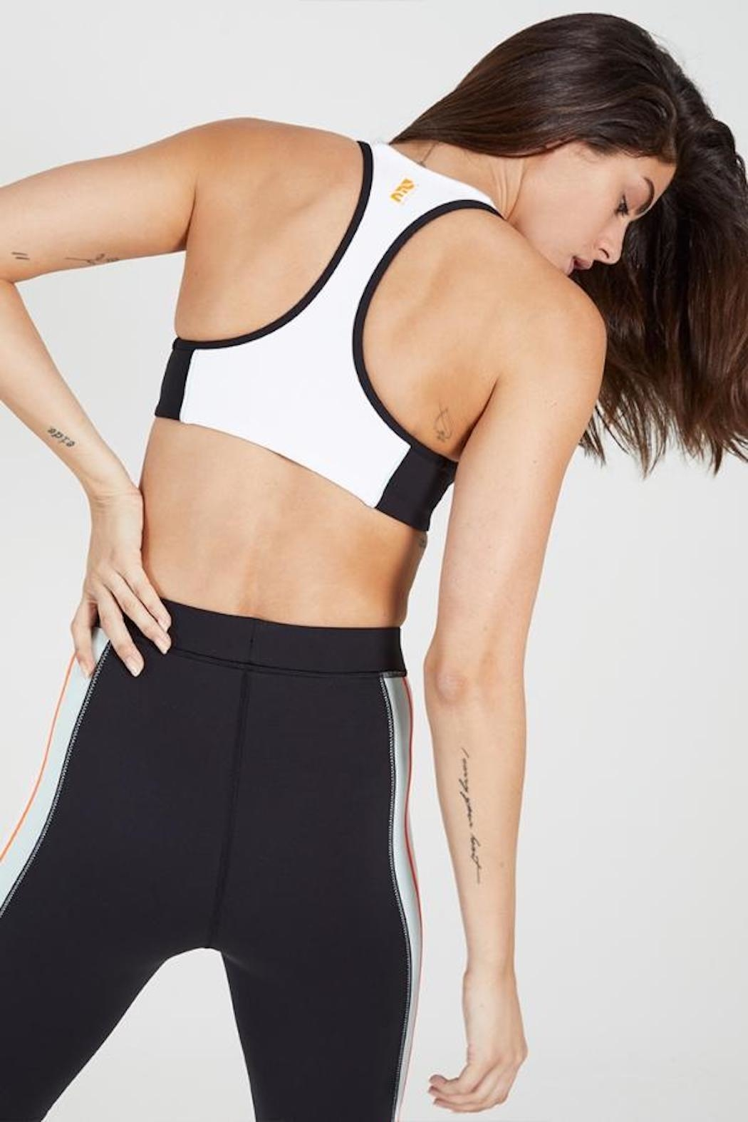 P.E NATION Camber Sports Bra - Front Full Image