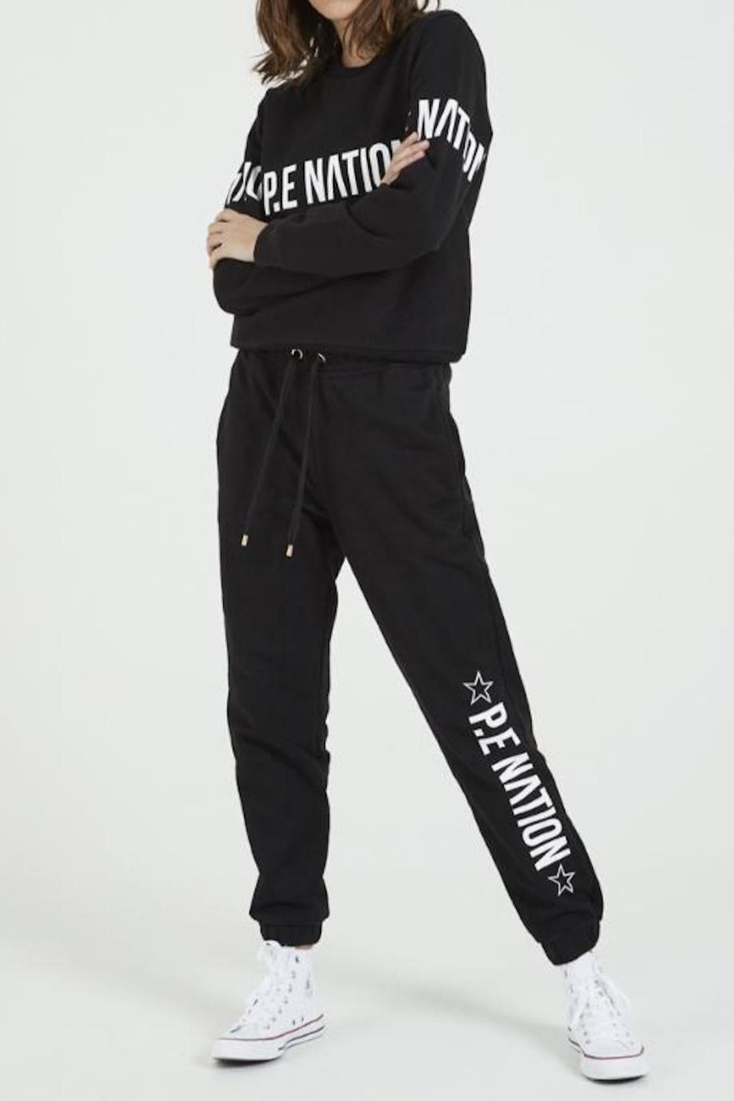 P.E NATION Downclimb Trackpant - Back Cropped Image