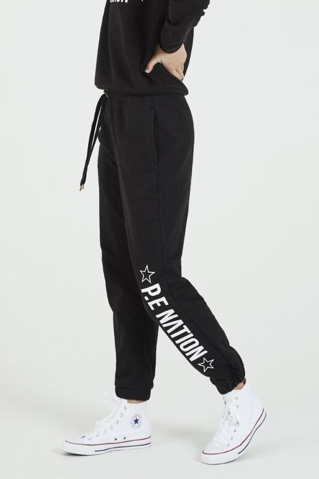 P.E NATION Downclimb Trackpant - Side Cropped Image