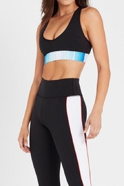 P.E NATION Lineal Success Sports Bra - Front full body