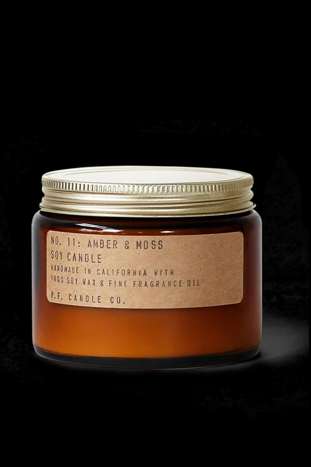 P.F. Candle Co. Amber & Moss Candle - Main Image