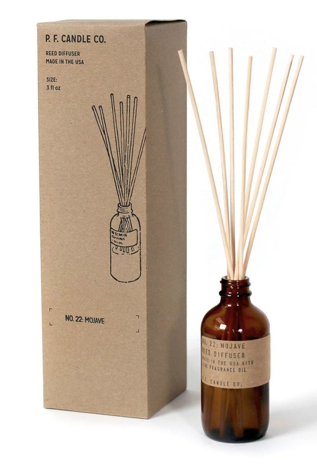 P.F. Candle Co. Reed Diffuser - Front Cropped Image