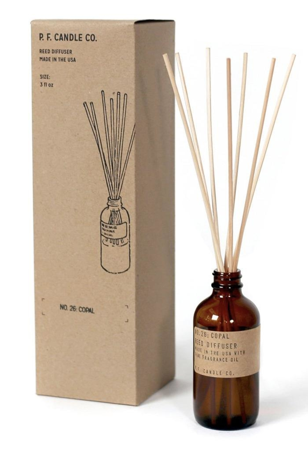 P.F. Candle Co. Reed Diffuser - Main Image