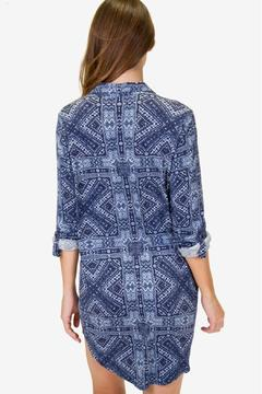 P.J. Salvage Blue Batik Nightshirt - Alternate List Image