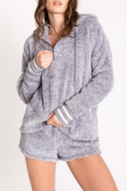 P.J. Salvage Cozy Grey Hoody - Product Mini Image