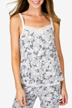 P.J. Salvage Floral Lace Cami - Product List Image